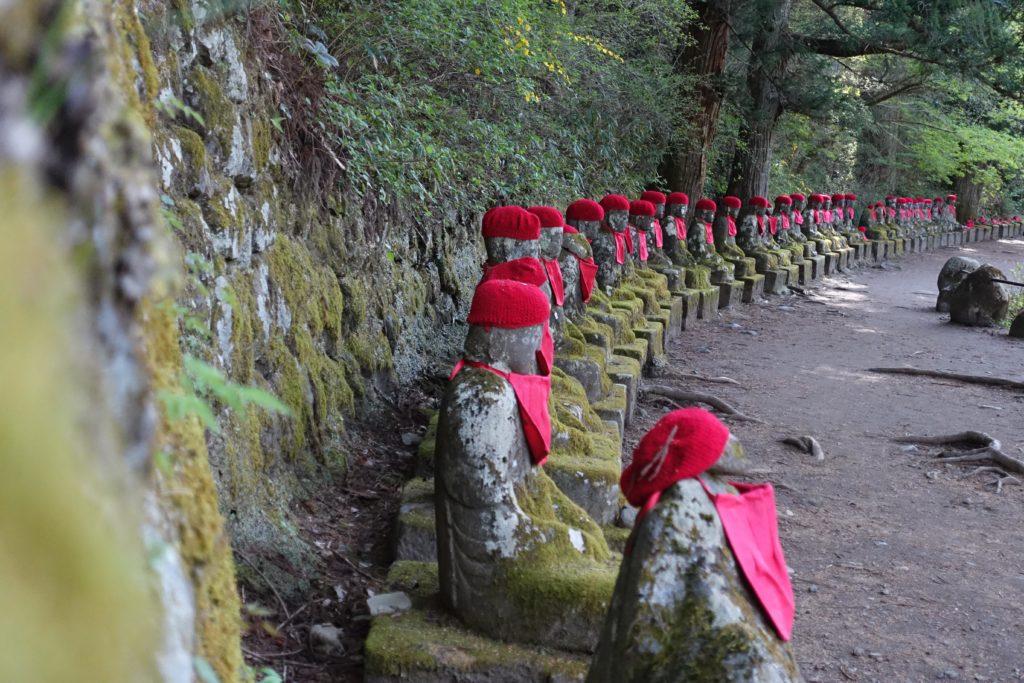 Nikko au Japon bouddha Jizo
