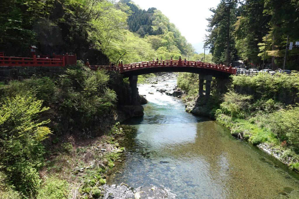 Nikko au Japon pont Shinkyo
