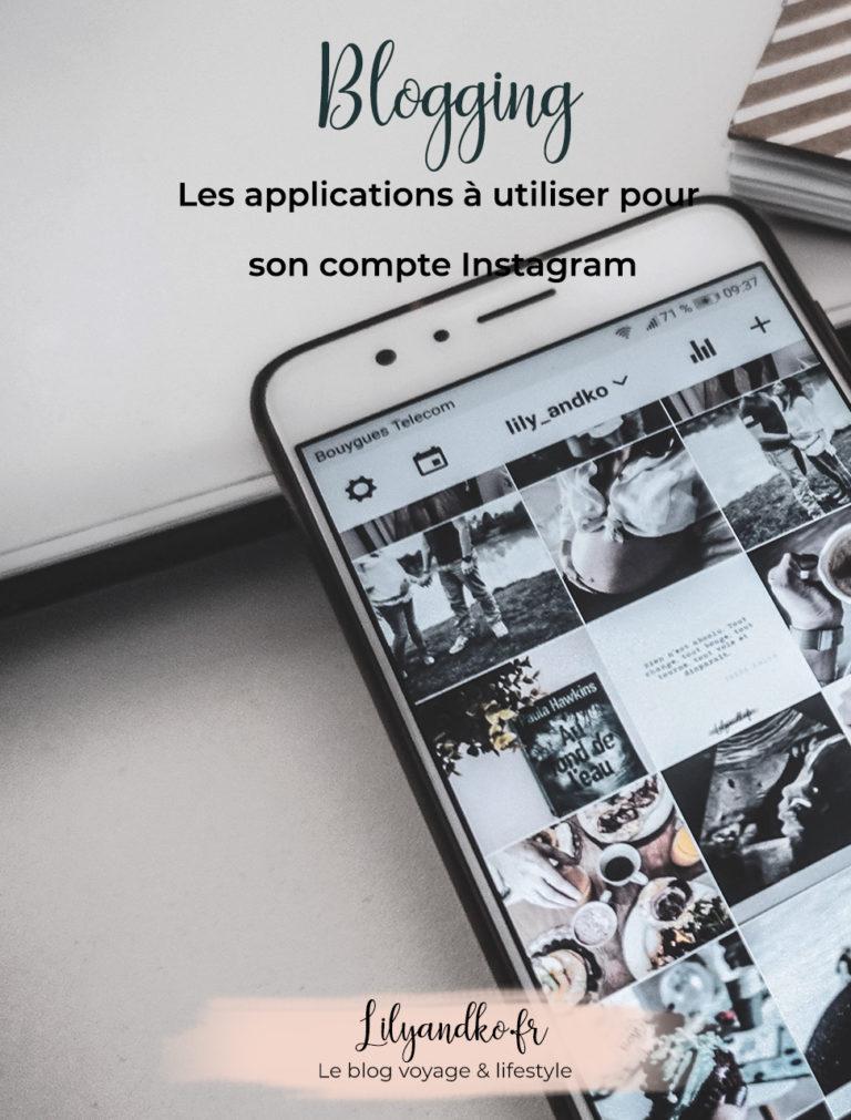 Pinterest bannière applications à utiliser pour son compte instagram