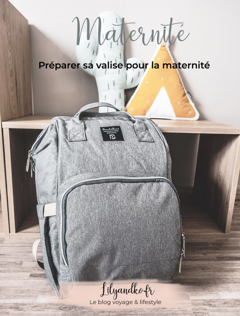 Pinterest bannière préparer sa valise pour la maternité
