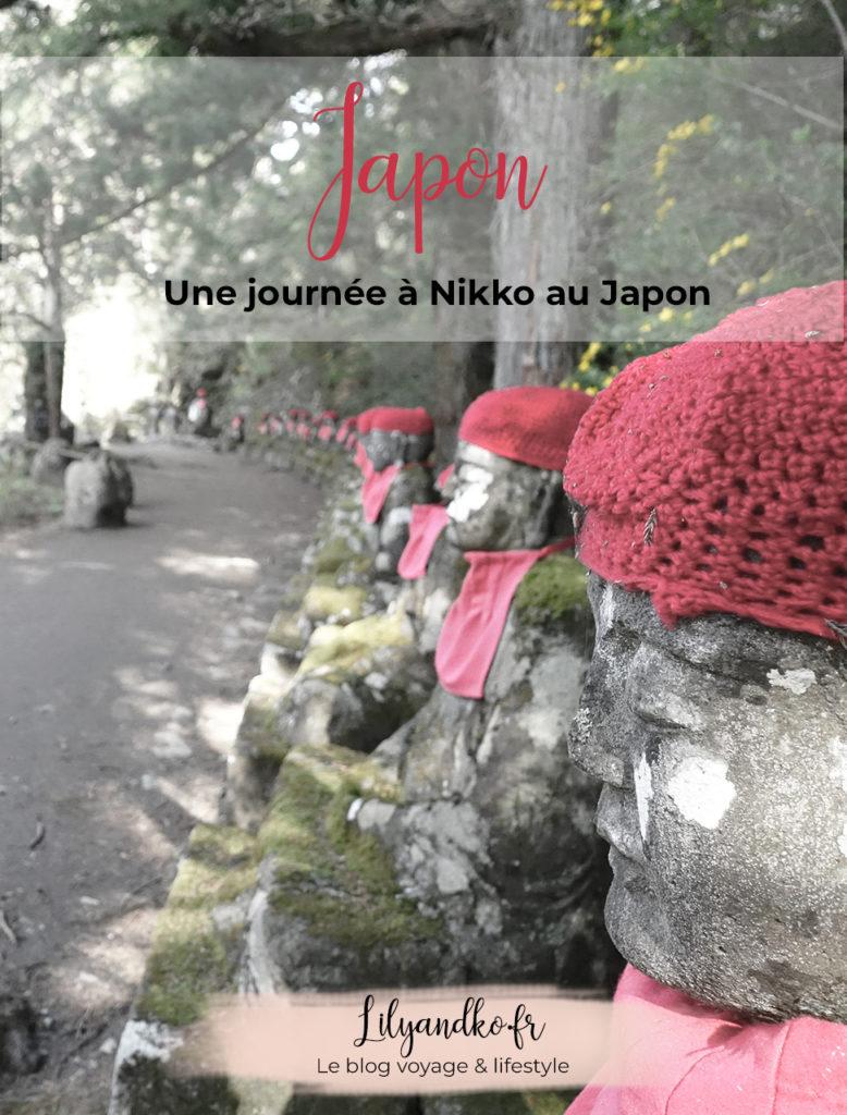 Pinterest bannière une journee a nikko au japon