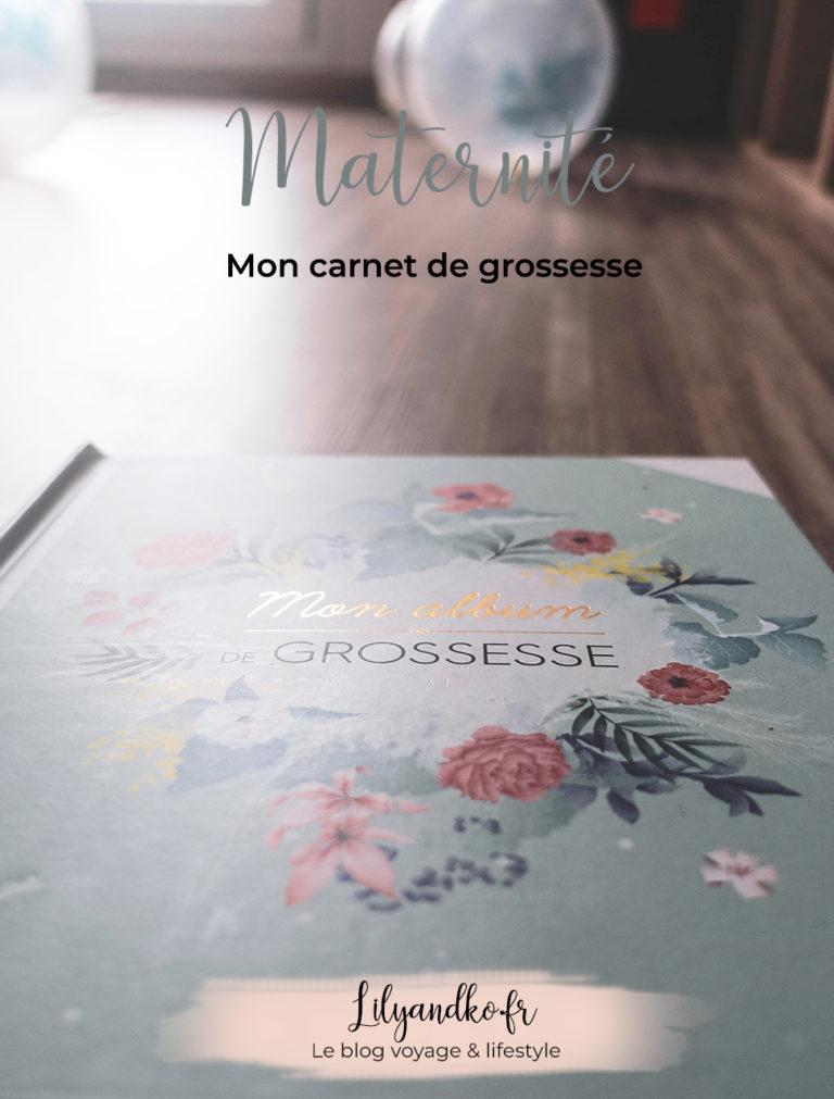 Pinterest bannière mon carnet de grossesse