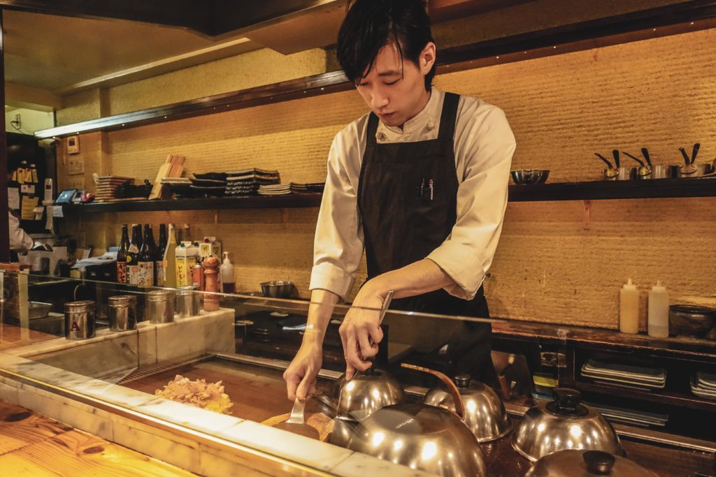 Food okonomiyaki kyoto