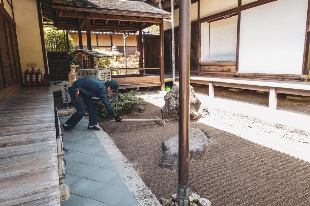 Découvrir kyoto- Ginkaku-ji pavillon argent