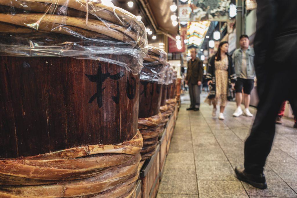 Marché Nishiki - découvrir kyoto