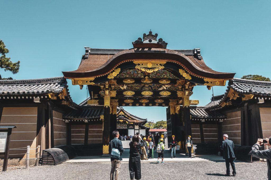 Découvrir Kyoto- Chateau nijo-jo