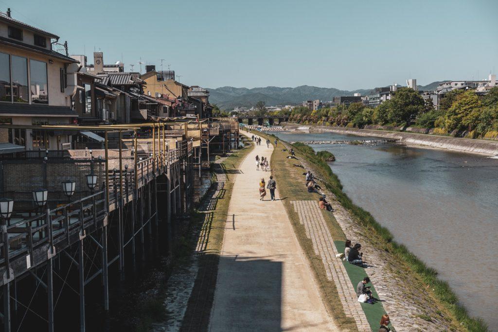 Découvrir Kyoto quartier pontocho